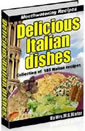 Delicious Italian Dishes by W.G. Water