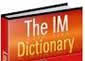 The Ultimate IM Dictionary by Alex Blaken